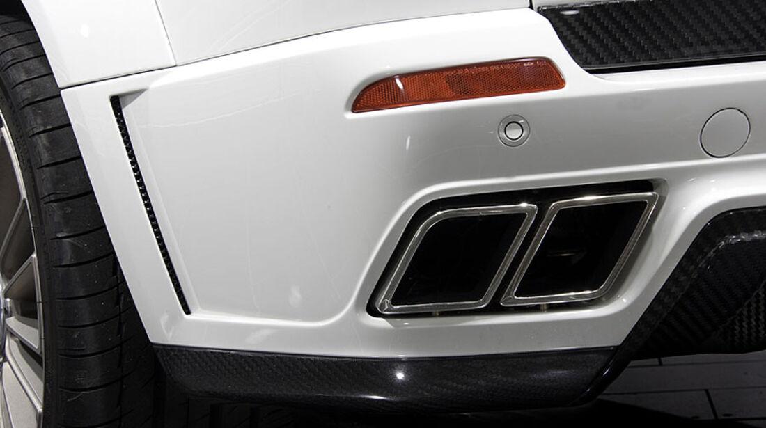 Mansory BMW X5 Auspuffrohr