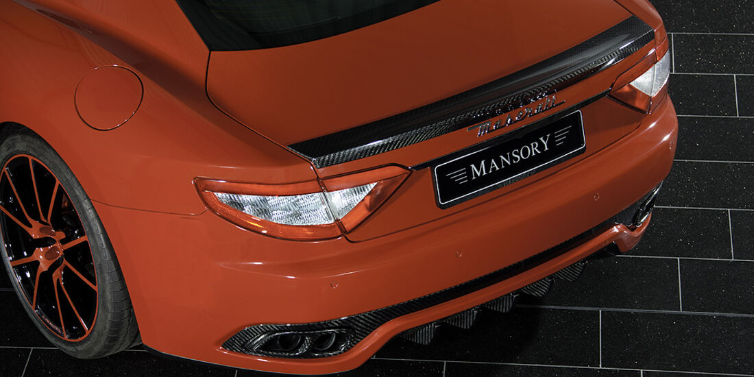 Mansory Maserati GranTurismo, Heck