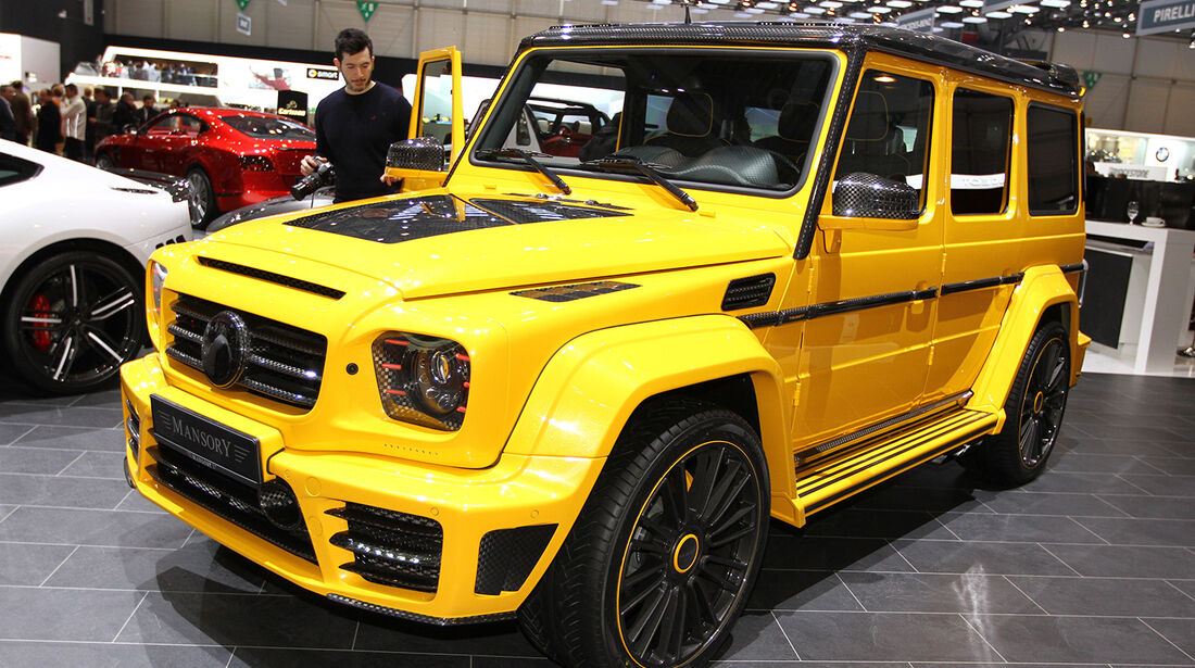 Mansory Mercedes G-Klasse