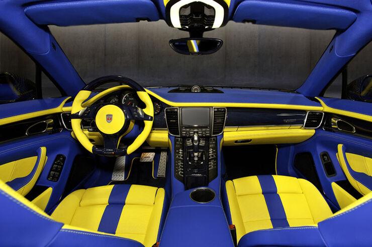 Mansory Porsche Panamera Turbo Innenraum