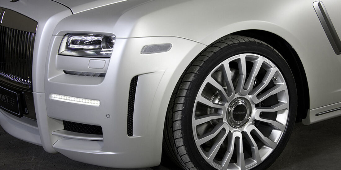 Mansory White Ghost Limited Plakette