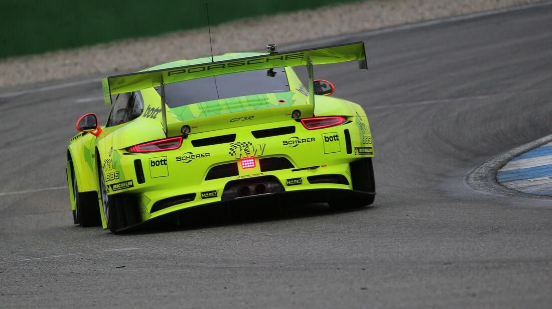 Manthey-Porsche 911 GT3 R, Heckansicht
