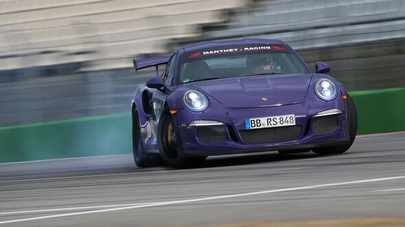Manthey-Porsche 911 GT3 RS MR, Driften