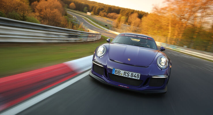 Manthey-Porsche GT3 RS MR, Supertest, Nürburgring-Nordschleife