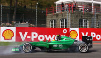 Marcus Ericsson - Caterham - Formel 1 - GP Belgien - Spa-Francorchamps - 22. August 2014