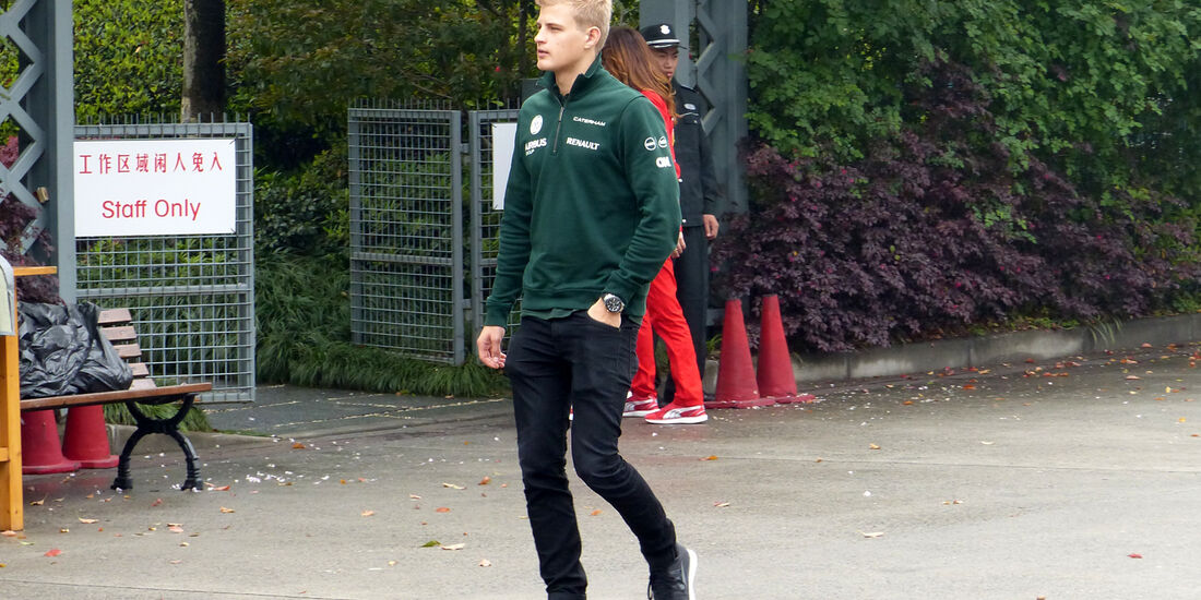Marcus Ericsson - Caterham - Formel 1 - GP China - Shanghai - 17. April 2014