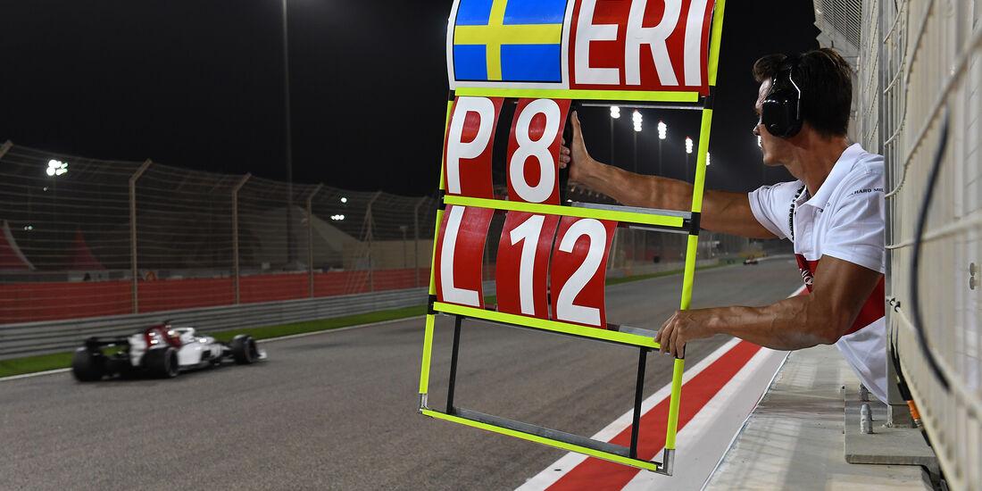 Marcus Ericsson - Formel 1 - GP Bahrain 2018