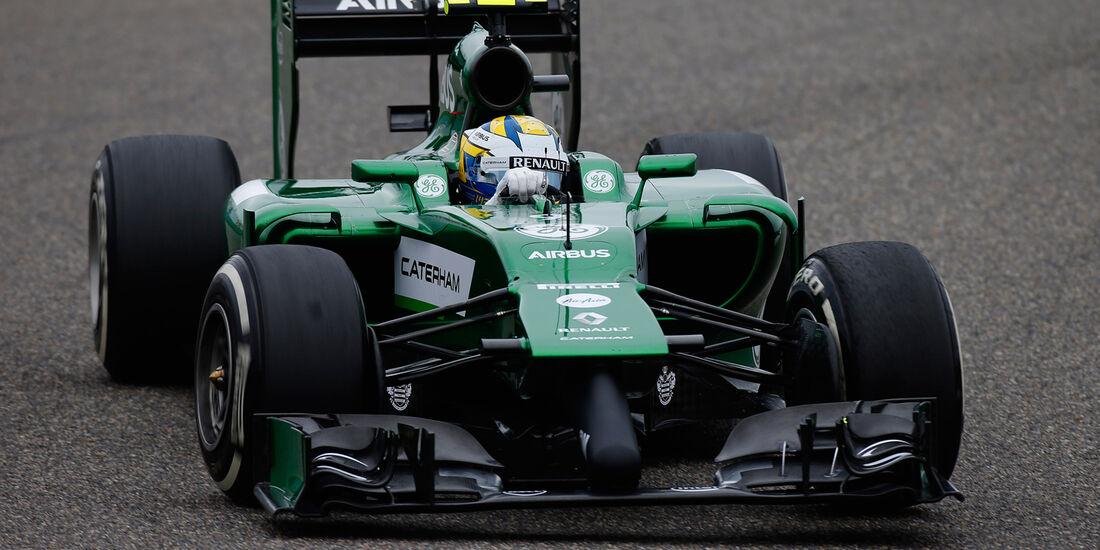 Marcus Ericsson - GP China 2014