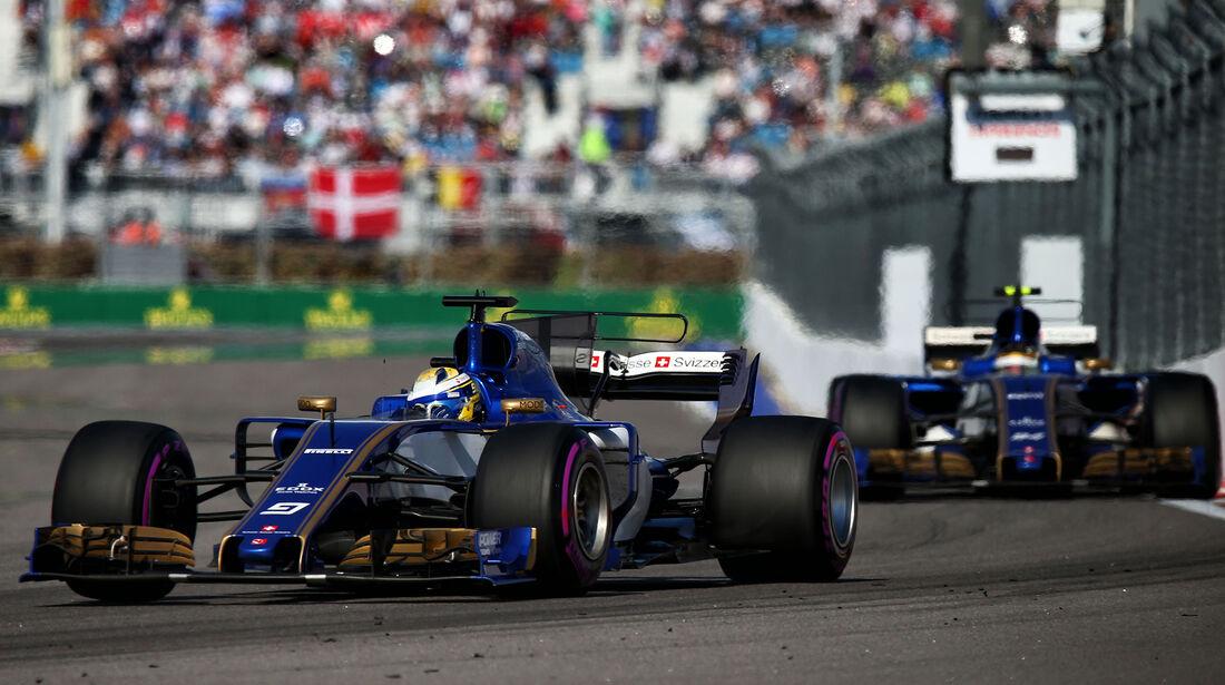 Marcus Ericsson - GP Russland 2017