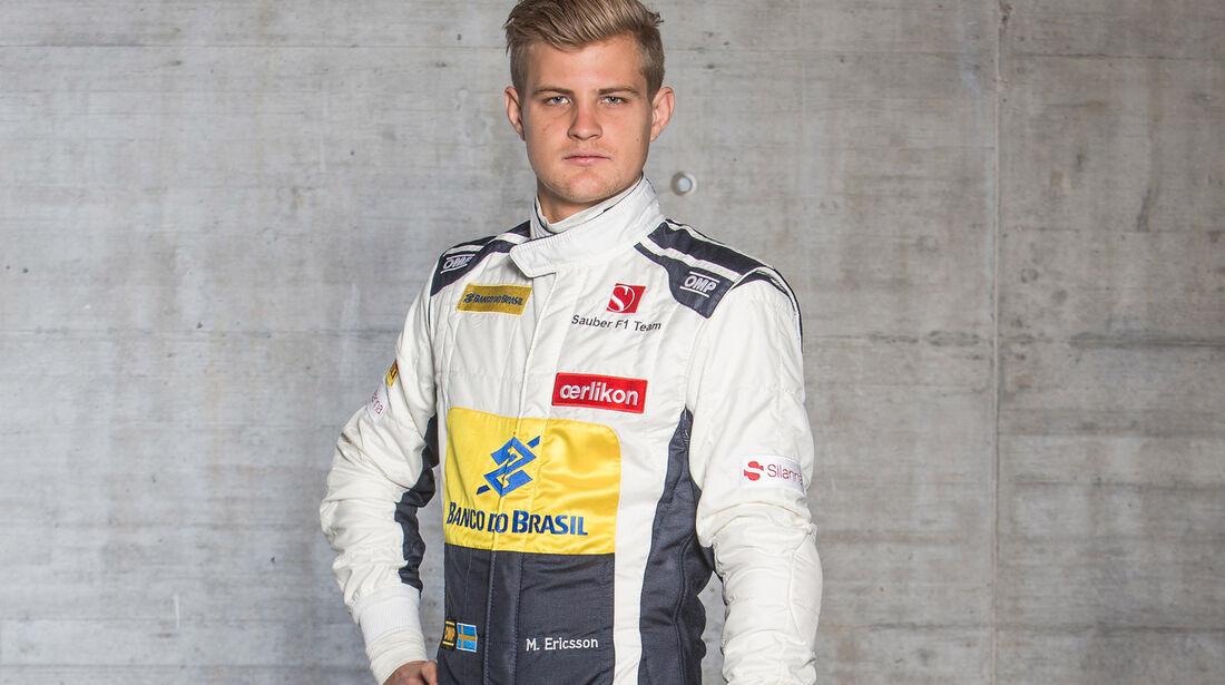 Marcus Ericsson - Porträt - Formel 1 - 2015