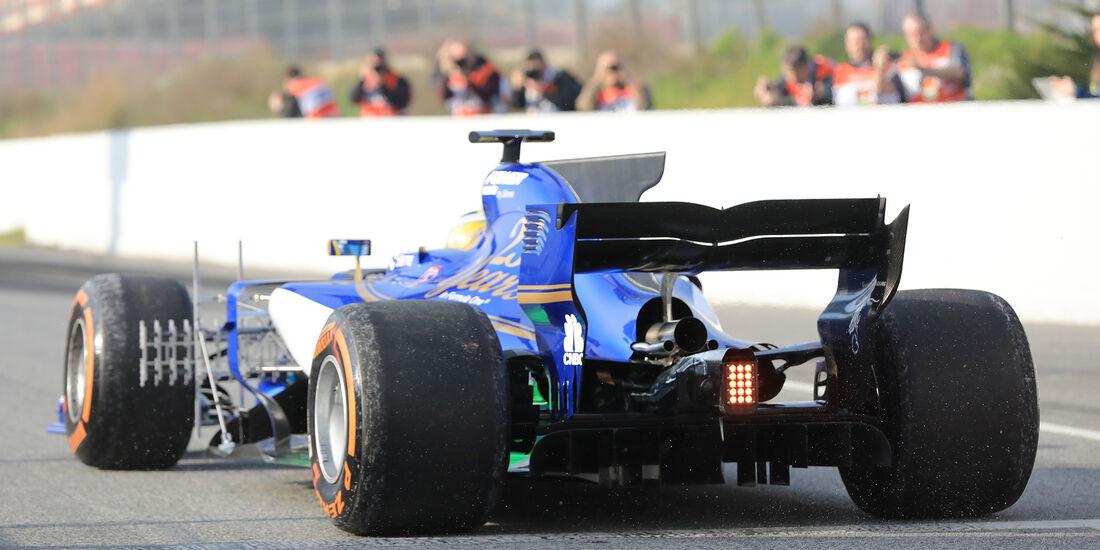 Marcus Ericsson - Sauber  - F1-Test - Barcelona - 27. Februar 2017