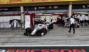 Marcus Ericsson - Sauber - Formel 1 - GP Bahrain - 7. April 2018