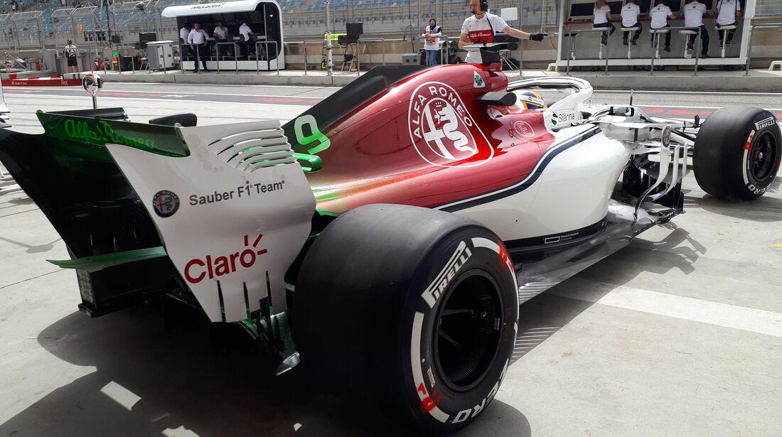 Marcus Ericsson - Sauber - Formel 1 - GP Bahrain - Training - 6. April 2018
