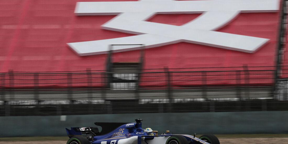 Marcus Ericsson - Sauber - Formel 1 - GP China - Shanghai - Freitag - 7.4.2017