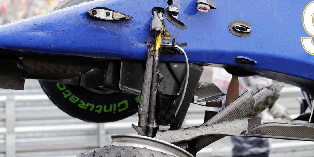 Marcus Ericsson - Sauber - GP Brasilien 2016 - Interlagos - Rennen
