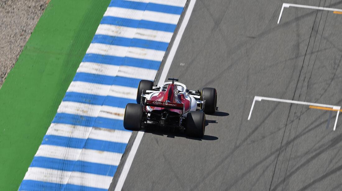Marcus Ericsson - Sauber - GP Deutschland - Hockenheim - Formel 1 - Freitag - 20.7.2018