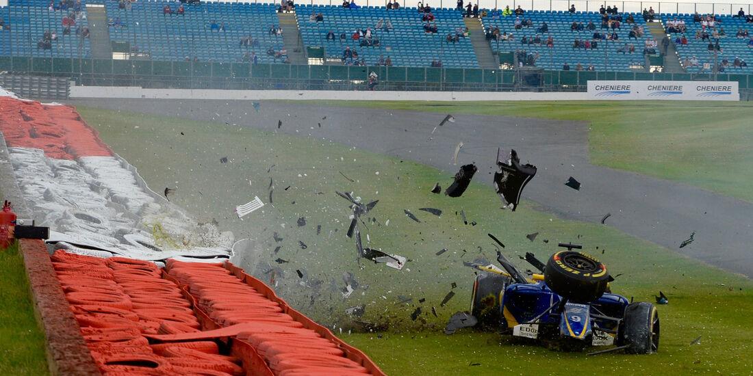 Marcus Ericsson - Sauber - GP England - Silverstone - Samstag - 9.7.2016