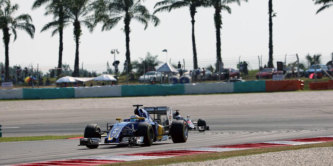 Marcus Ericsson - Sauber - GP Malaysia 2016 - Sepang