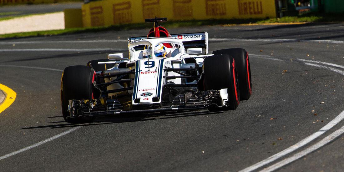 Marcus Ericsson - Sauber - Qualifying - GP Australien 2018 - Melbourne