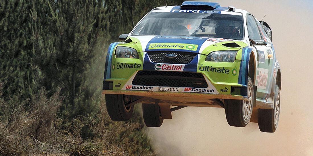 Marcus Grönholm, Rallye Australien 2006, Rallye-Sprünge