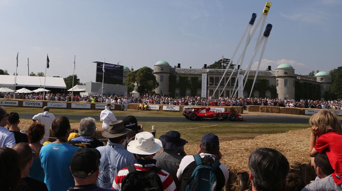 Mark Gene - Ferrari - Goodwood 2013