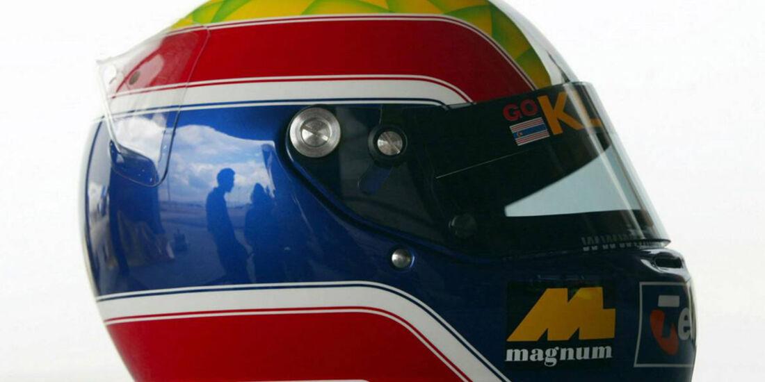 Mark Webber 2002 Helm