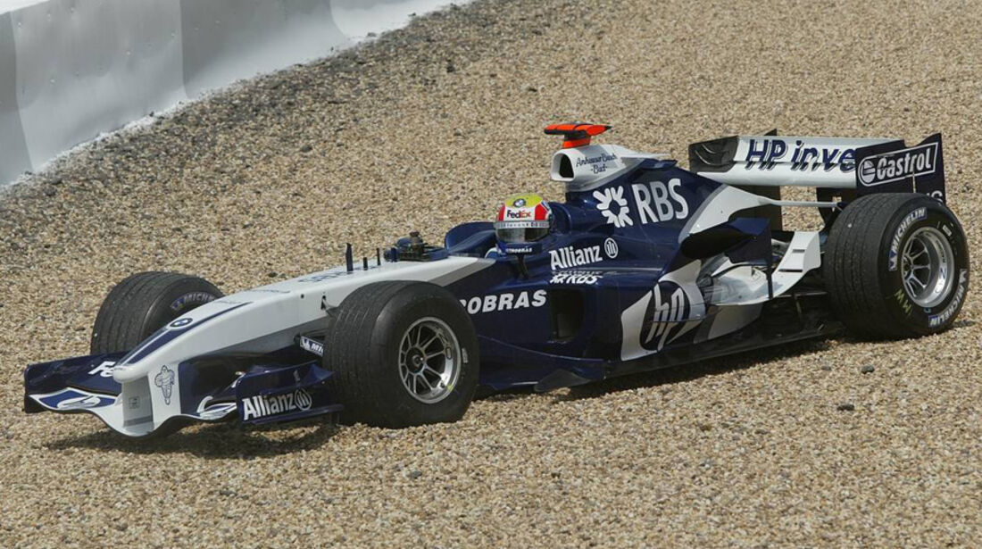 Mark Webber 2005 BMW Williams