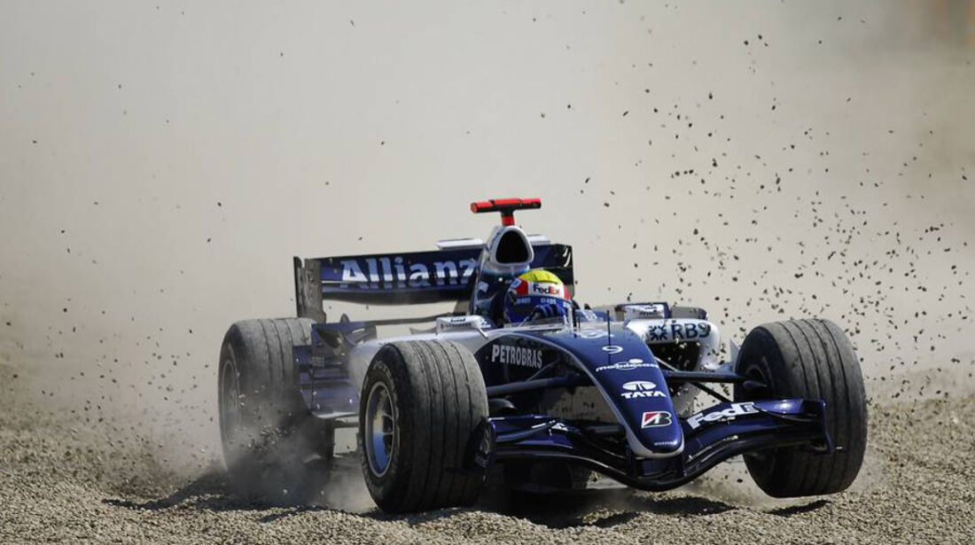 Mark Webber 2006 GP Italien