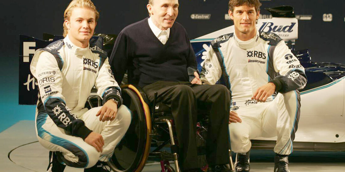 Mark Webber 2006 Rosberg Williams Präsentation