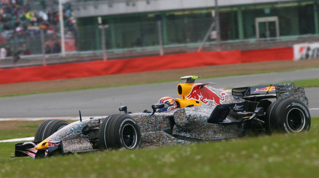 Mark Webber 2007 GP England