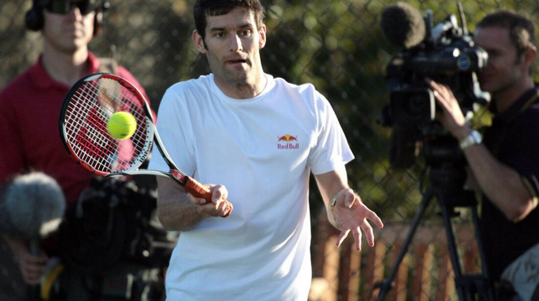 Mark Webber 2007 Tennis