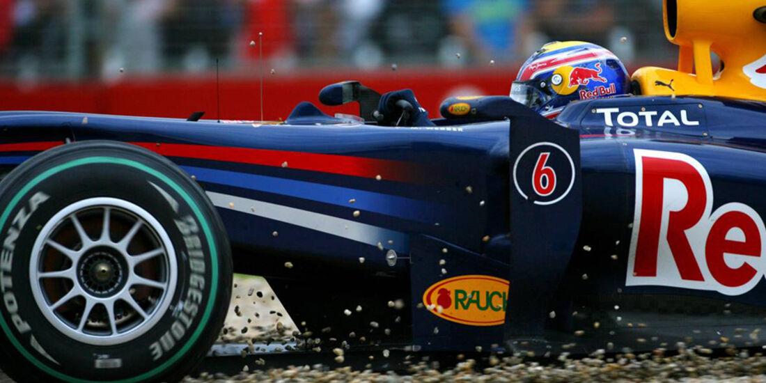 Mark Webber 2010 GP Australien