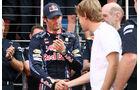 Mark Webber 2010 GP England Vettel