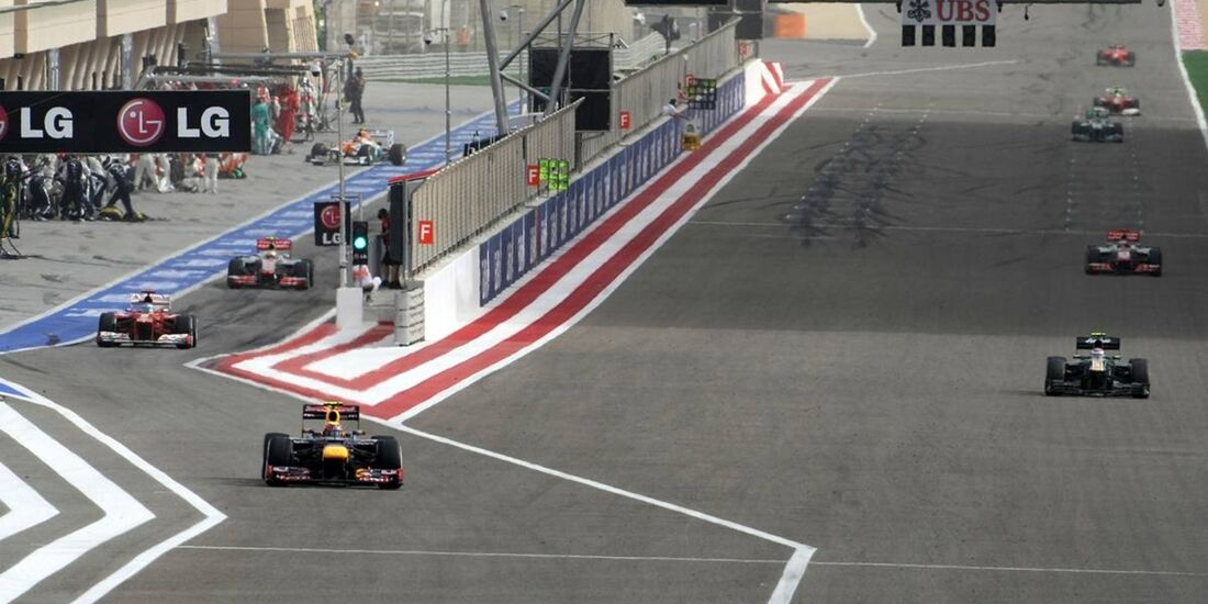 Mark Webber  - Formel 1 - GP Bahrain - 22. April 2012