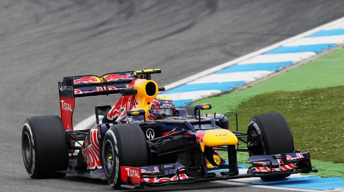 Mark Webber - Formel 1 - GP Deutschland - 20. Juli 2012