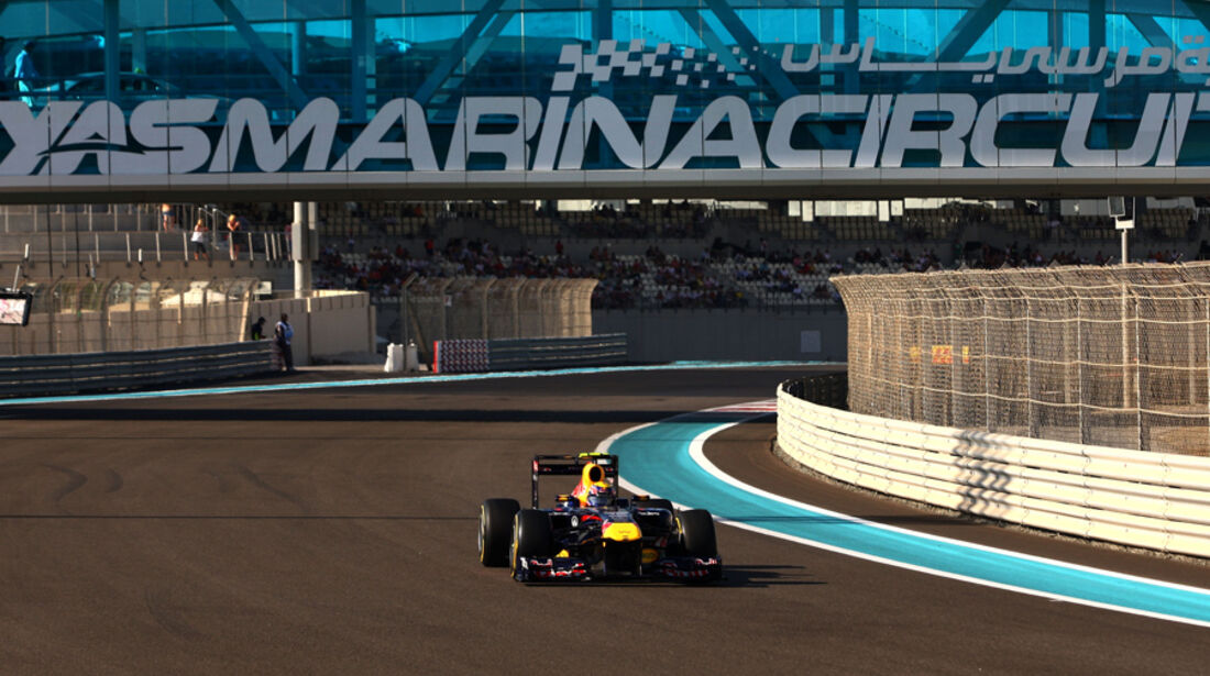 Mark Webber - GP Abu Dhabi - Qualifying - 12.11.2011