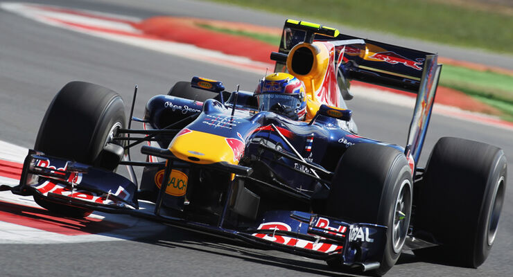 Mark Webber - GP England 2010
