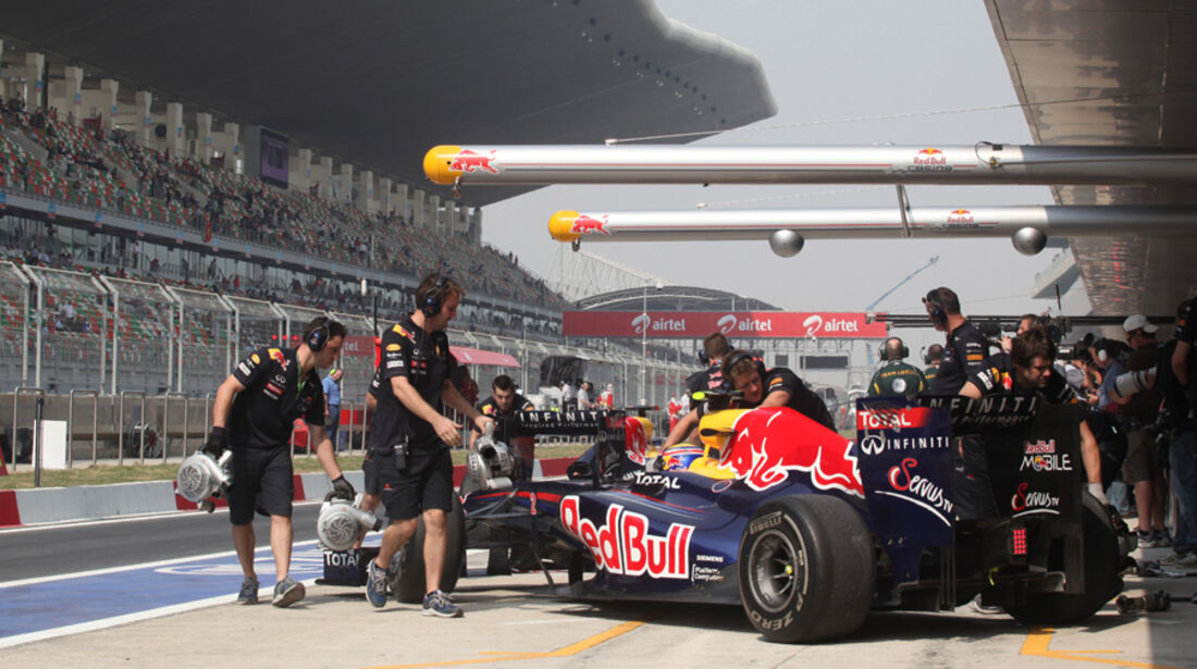 Mark Webber - GP Indien - Delhi - 29.10.2011