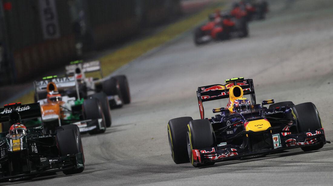 Mark Webber - GP Singapur 2012