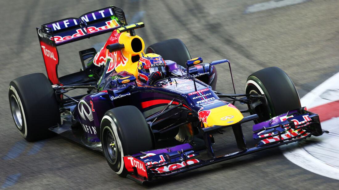 Mark Webber - GP Singapur 2013
