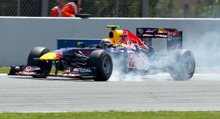 Mark Webber GP Spanien 2011