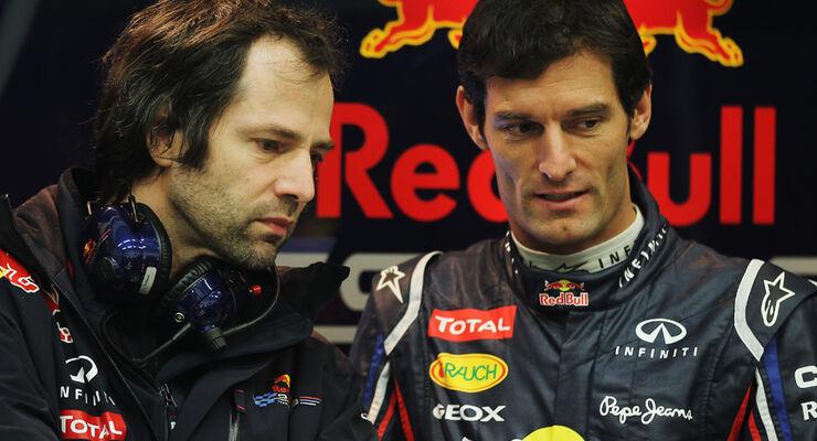 Mark Webber Jerez Test 2012