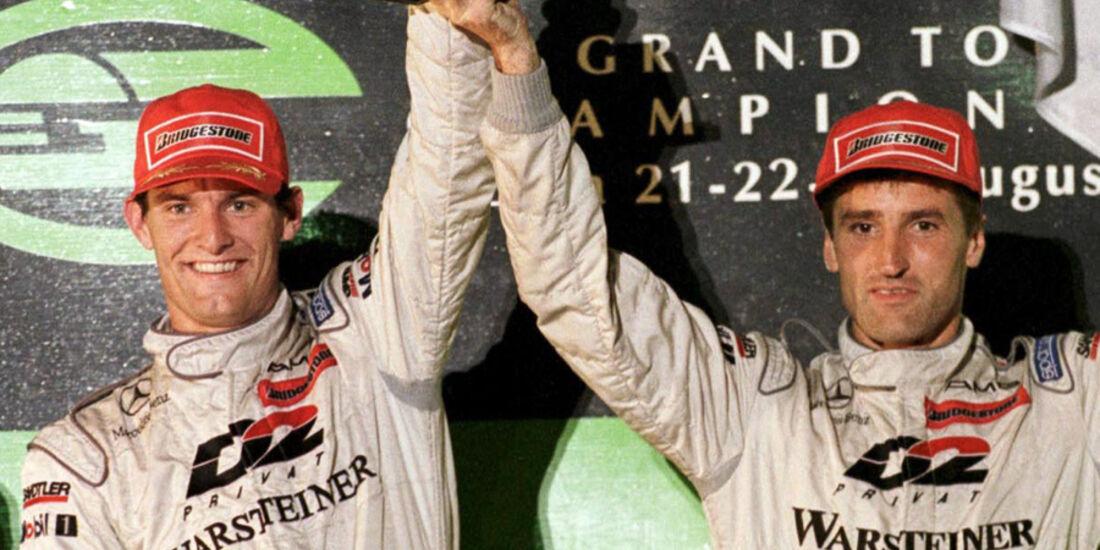 Mark Webber Mercedes AMG CLK-LM 1998