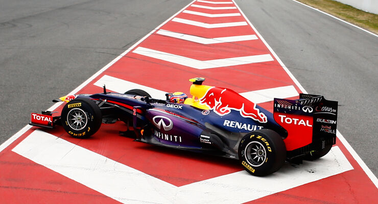 Mark Webber - Red Bull - Barcelona 2013