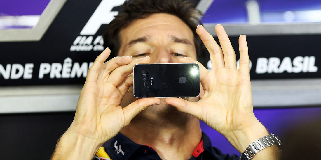 Mark Webber - Red Bull - Formel 1 - GP Brasilien - 21. November 2013