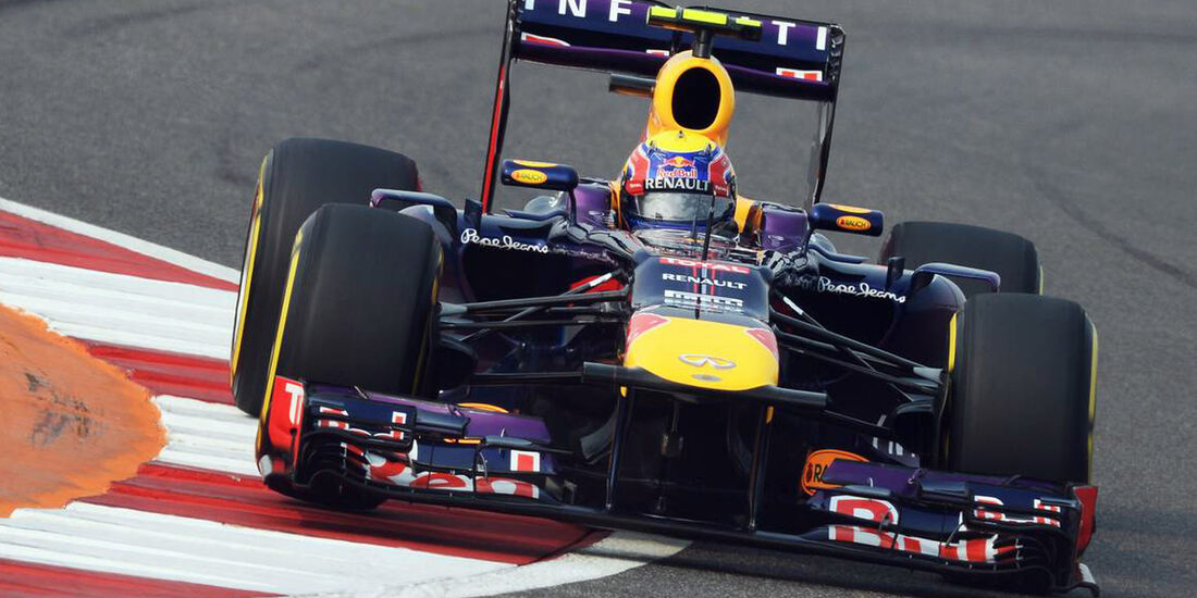 Mark Webber - Red Bull - Formel 1 - GP Indien - 26. Oktober 2013