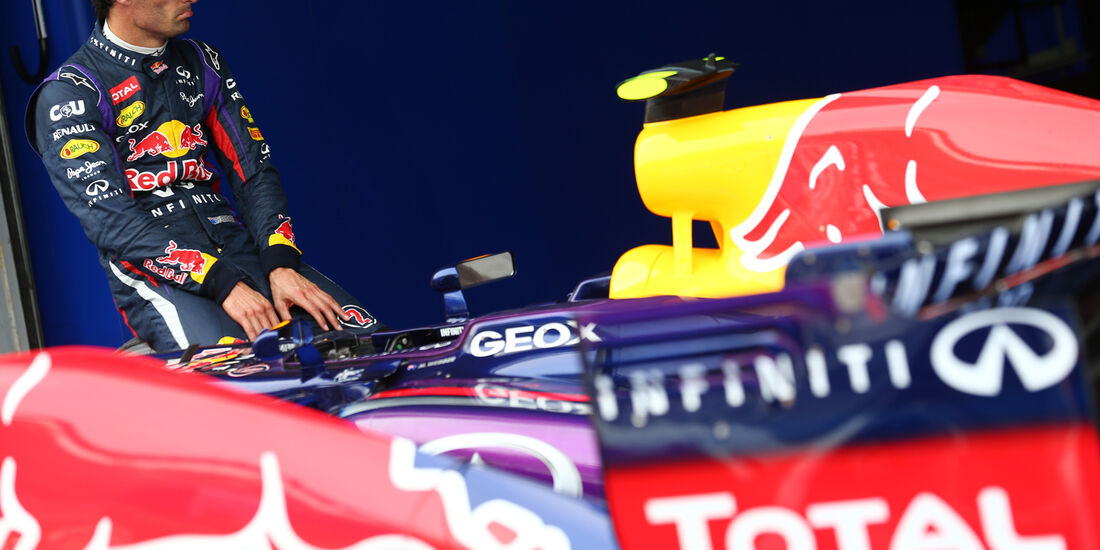 Mark Webber - Red Bull - Formel 1 - GP Korea - 5. Oktober 2013