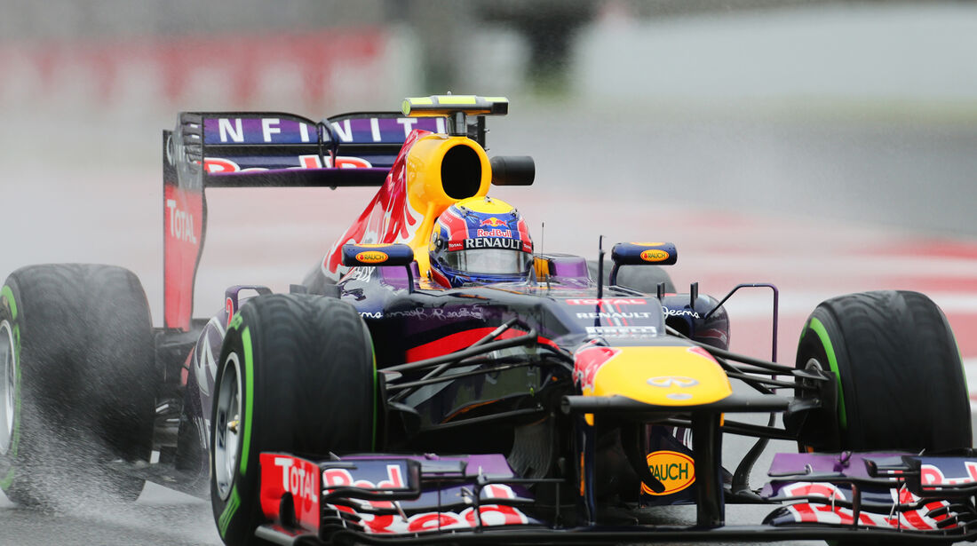 Mark Webber - Red Bull - Formel 1 - GP Spanien - 10. Mai 2013