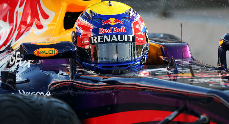 Mark Webber, Red Bull, Formel 1-Test, Barcelona, 28. Februar 2013