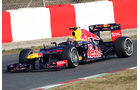 Mark Webber - Red Bull - Formel 1-Test Barcelona - 3. März 2012